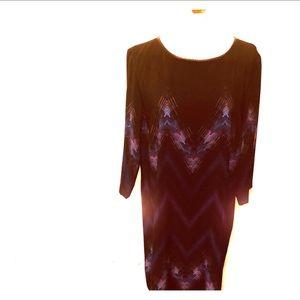Tahari Arthur St. Levine black dress size 14